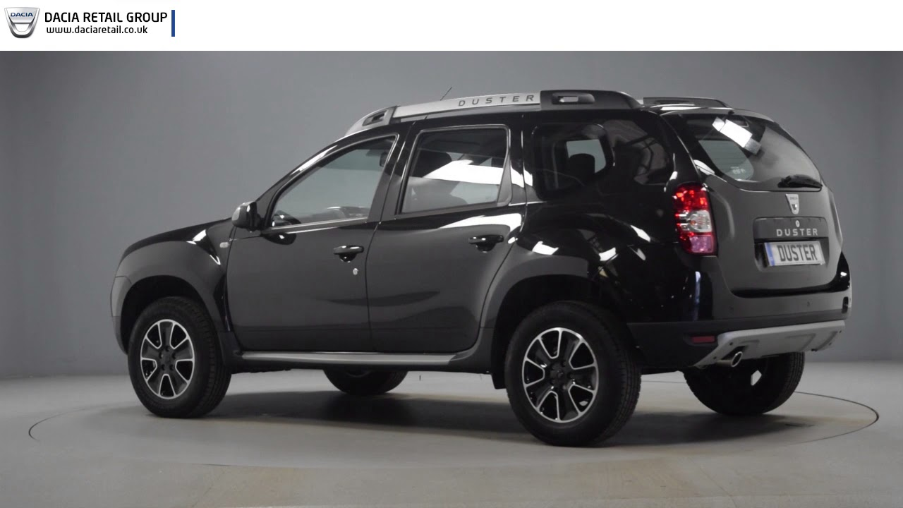 dacia duster prestige black youtube. Black Bedroom Furniture Sets. Home Design Ideas