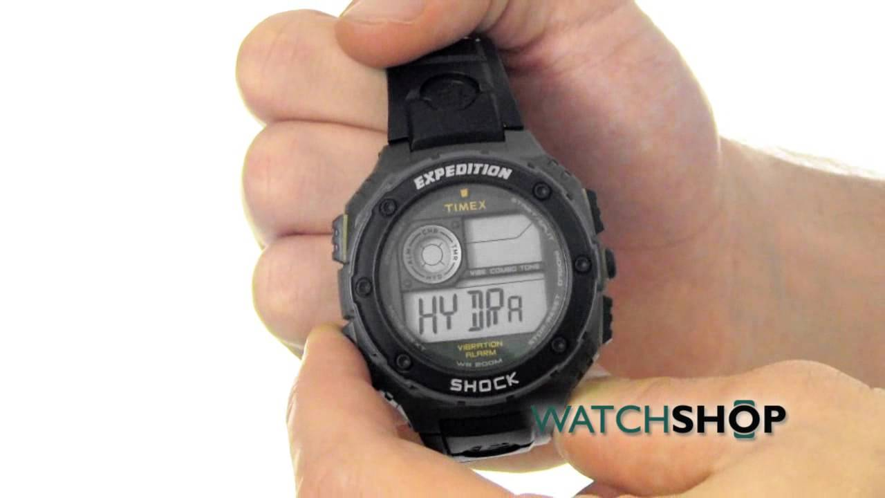 3f7141e7987e Timex Men s Expedition Vibe Shock Alarm Chronograph Watch (T49982 ...
