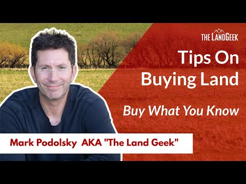 Tip#7 Buying a Property or Rural Land