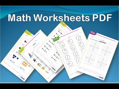 Math Worksheets For Kids | Pdf Printable downloads FREE ! - YouTube