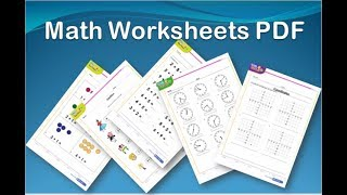 Math Worksheets For Kids | Pdf Printable Downloads Free !