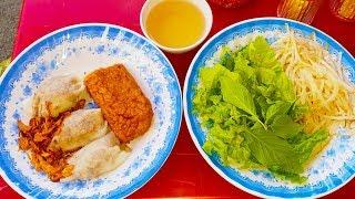 Ngỡ ngàng dĩa bánh cuốn 40k trong hẻm mấy chục năm ở Sài Gòn | street food saigon