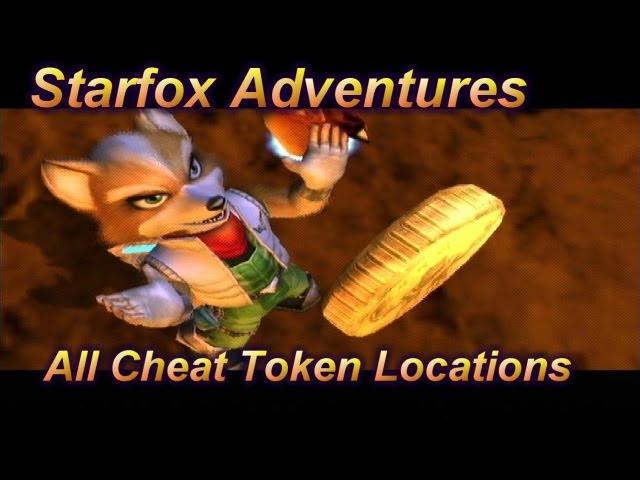 Star Fox Adventures - All Cheat Token Locations + Unlocks