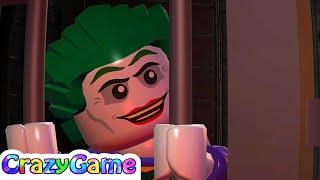 #LEGO #Batman 2 Complete Walkthrough #3 Arkham Asylum Antics (4K)