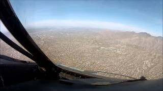 Final Flight of C-5 80219 from Kelly to Davis Mothan (Boneyard)