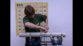 Водопровод. Ekoplastik. Wavin монтаж 2(http://vodyanoy.com.ua Все для водопровода, канализации, отопления, сантехники, электричества, очистки воды и воздуха..., 2013-05-08T07:32:04.000Z)