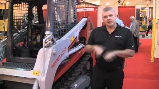 Takeuchi TL230 Track Loader - Features and Benefits Thumbnail