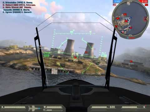 Battlefield 2: Dalian Plant (64) [4 Players + 5 bots vs 43 bots]