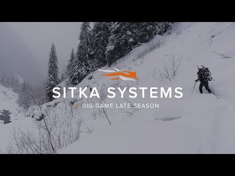 SITKA Systems: Late Season | Big Game