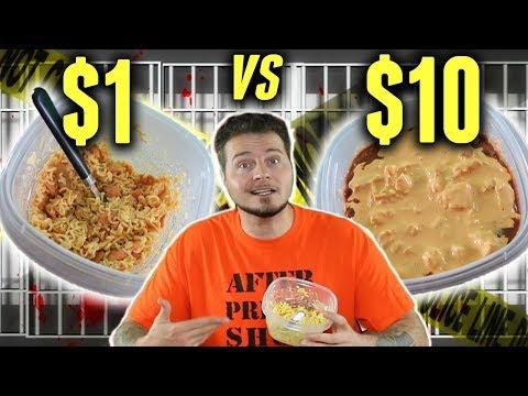 $1 Prison Meal Vs. $10 Prison Meal
