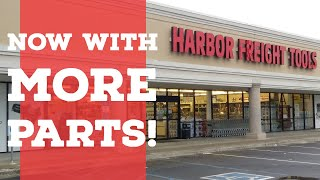 Harbor Freight has a Parts Department???