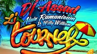 Dj Assad Ft Alain Ramanisum & Willy William - Li Tourner OFFICIAL LYRICS VIDEO