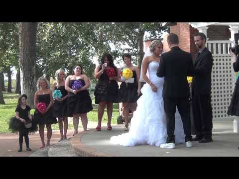 Adam And Keely Muryns Wedding Day 2013 P2 Ceremony Medicine Hat Alberta Canada