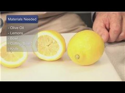 Oil Treatments & Recipes : How to Treat Kidney Stones With Lemon Juice and Olive Oil