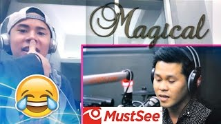 "Marcelito Pomoy sings ""The Prayer"" (Celine Dion/Andrea Bocelli) REACTION!?!? MAGICAL VOICE!!!!!!"