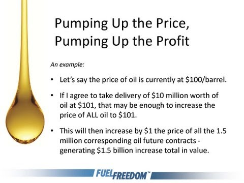 Webinar: Oil Prices, Oil Futures and Speculation