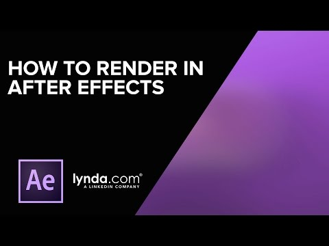Rendering with Adobe Media Encoder | After Effects | lynda.com