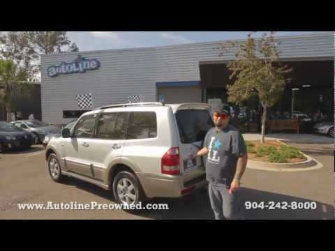Autoline's 2005 Mitsubishi Montero Limited Walk Around Review Test Drive