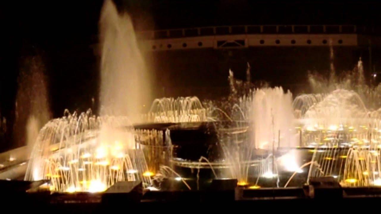Muziek Fontein Praag 26 09 2010 Youtube