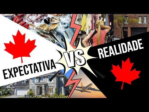 Expectativa x realidade de nossa vida no Canadá 🇨🇦
