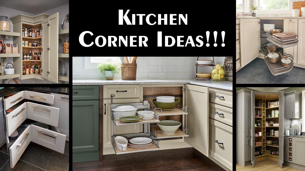 Creative Spacious Kitchen Corner Ideas Youtube