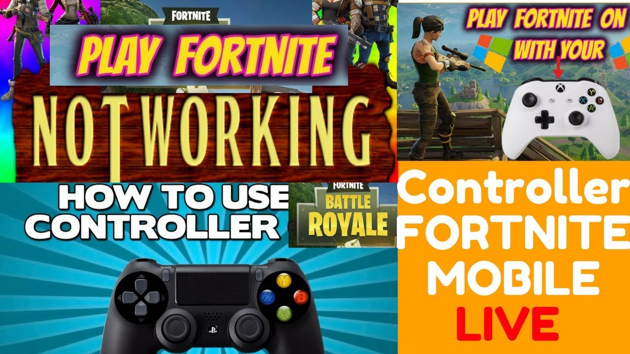 How To Play With Controller Support On Fortnite Mobile Can You