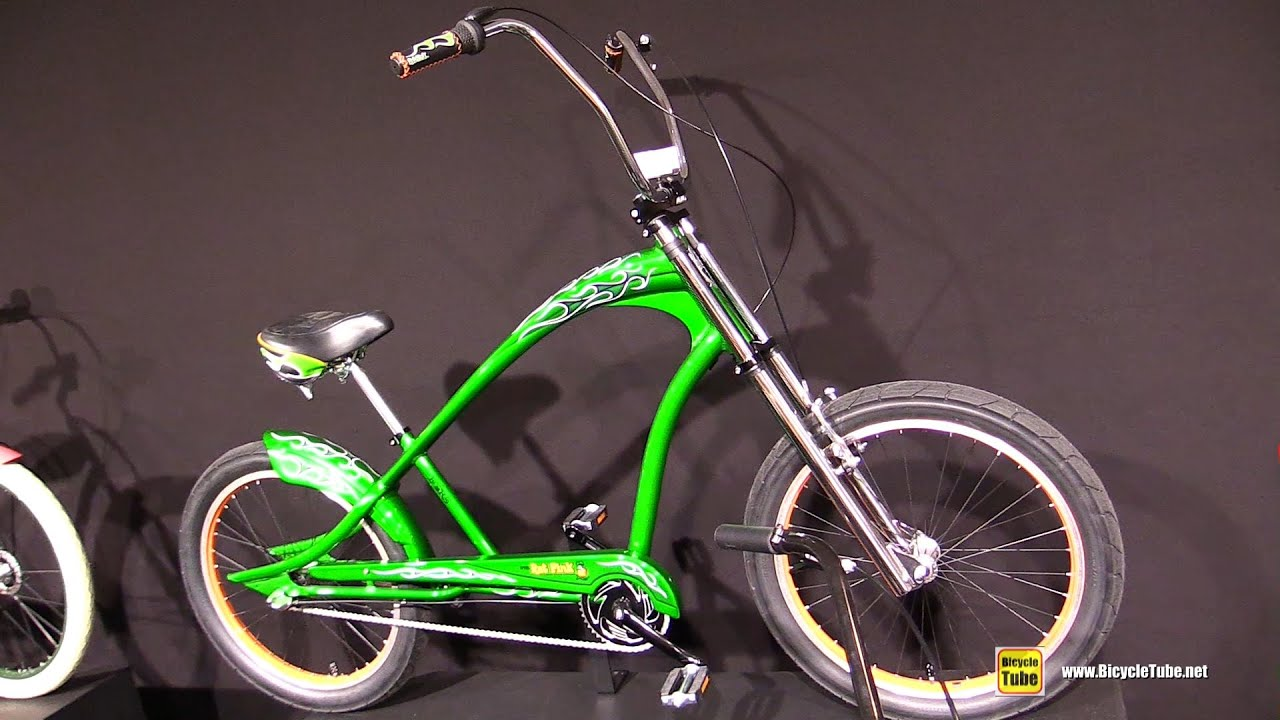 2017 Electra Bicycles Rat Fink 3i Cruiser Bike