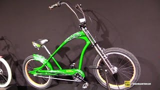 2017 Electra Bicycles Rat Fink 3i Cruiser Bike - Walkaround - 2016 Eurobike