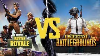 PUBG vs Fortnite Battle Royale! - Detaylı Karşılaştırma!