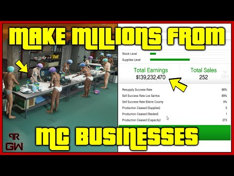 How To Make MILLIONS With MC BUSINESSES In GTA 5 Online - Complete Business Guide 2020