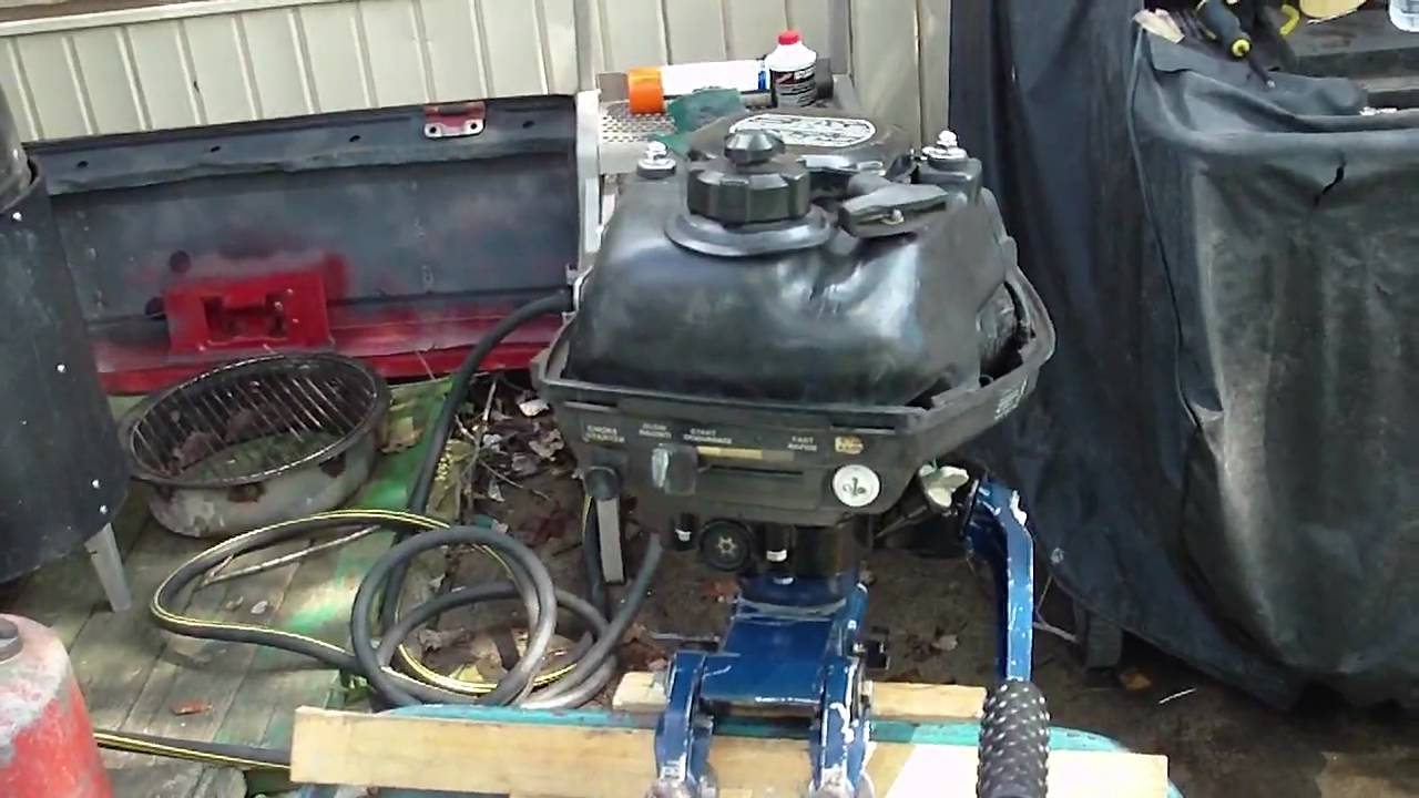 Honda bf20 2hp boat motor pt1 youtube for New honda boat motors