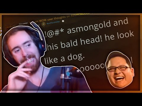Asmongold Reacts to a Korean Reddit Post That is Indirectly Saying Nonsense About Him