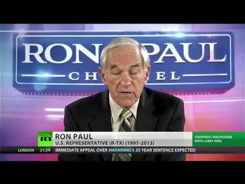▶ Ron Paul supports Snowden and Manning in Larry King interview