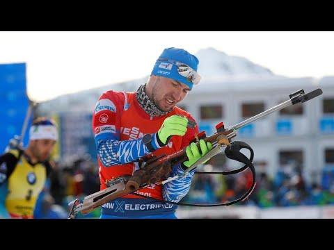 Биатлонист Логинов задумался о завершении карьеры после обыска