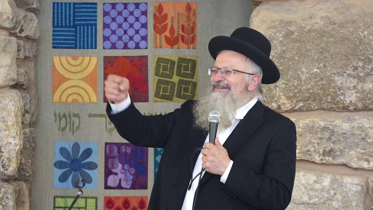 """הרב שמואל אליהו   ישיבת איתמר   שיחת חיזוק בענייני ראש השנה   אלול התשע""""ח"""
