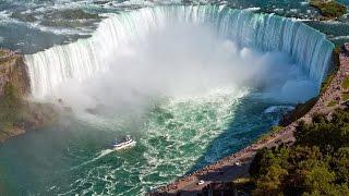 مقطع جذب 33 مليون مشاهدة !مشهد مذهل | شلالات نياجرا كندا سحر الطبيعة وروعة المكان  | Niagara Falls