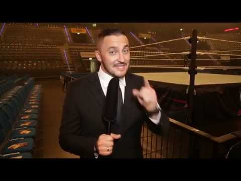 Sebastian Hackl Backstage: WWE Live In Stuttgart – 14. November 2015