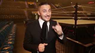 Sebastian Hackl backstage: WWE Live in Stuttgart – 14. November 2015