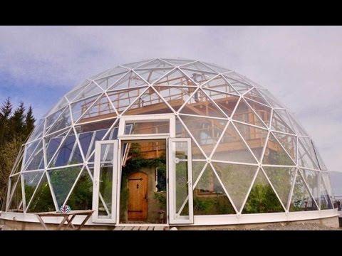 Дом - геодезический купол. Round House