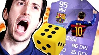 MESSI HEROOOOOOOO!!! TROPPA FORTUNA! DADO FUT DRAFT CHALLENGE -  Ultimate Team Fut Draft