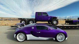 Not Driving my Bugatti Anymore.