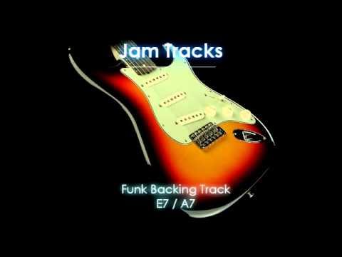 Funk Backing Track (E7/A7)