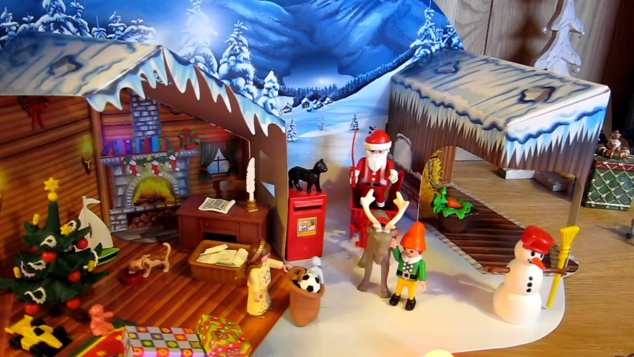 Playmobil Advent Calendar Christmas Post Office. Model 4161. Santa ...