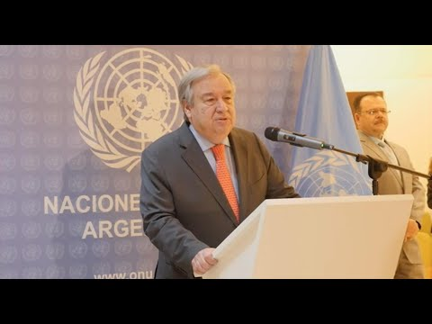 UN Chief presser ahead of G20 Leaders' Summit (Buenos Aires, Argentina)