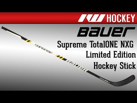 Bauer Supreme Totalone Nxg Limited Edition Hockey Stick Review Youtube