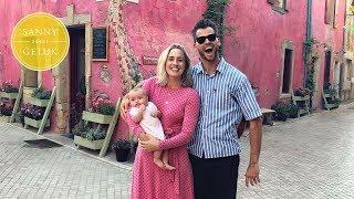 Onze eerste vakantie met de baby Sanny zoekt Geluk
