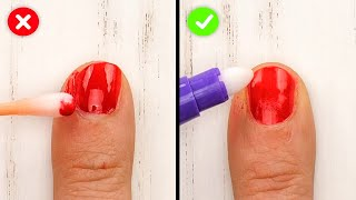 GENIUS BEAUTY HACKS FOR URGENT SITUATIONS || 5-Minute Hacks For Girls