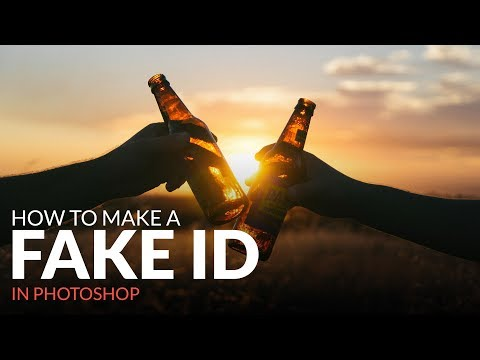 How to Make a Fake ID in Photoshop