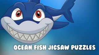 Kids Ocean Fish Jigsaw Puzzle - Fun and educational puzzle brain game for boys and girls