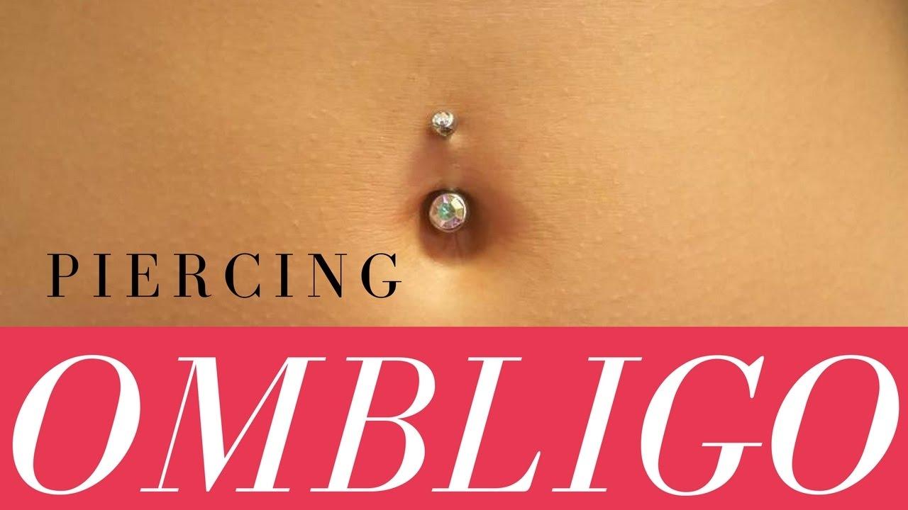 El arriba en piercing abajo ombligo y